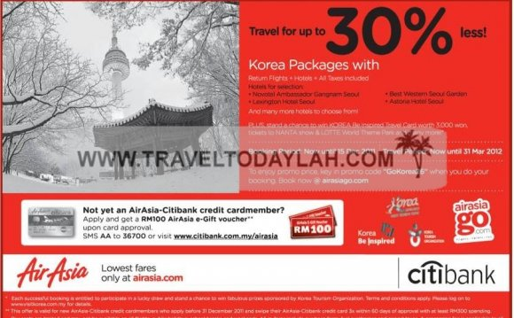AirAsia, Korea, Vacation