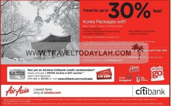 AirAsia, Korea, Vacation