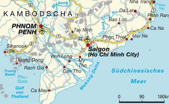 Map Vietnam Beaches