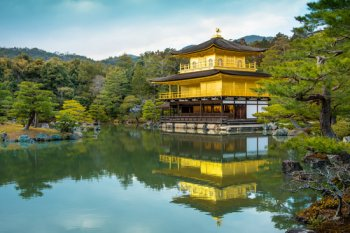 Kyoto Japan Golden Pavilion