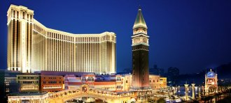 Largest casino in the world: The Venetian Macao is a luxury hotel resort owned by Las Vegas Sands