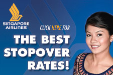 Singapore Airlines best stopover deals
