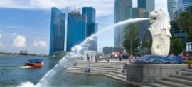 Singapore: Merlion Fountain