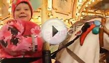 clip 58082949: Holiday christmas time Carusel Little Girl 2